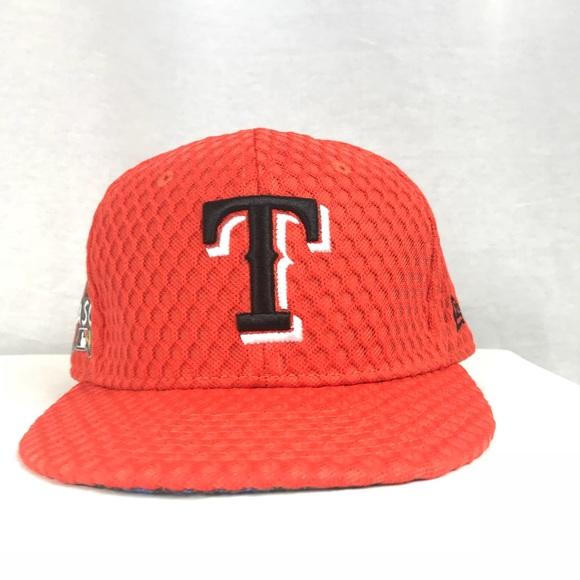 Texas Rangers Home Run Derby 59FIFTY New Era Cap a483c3f8997f